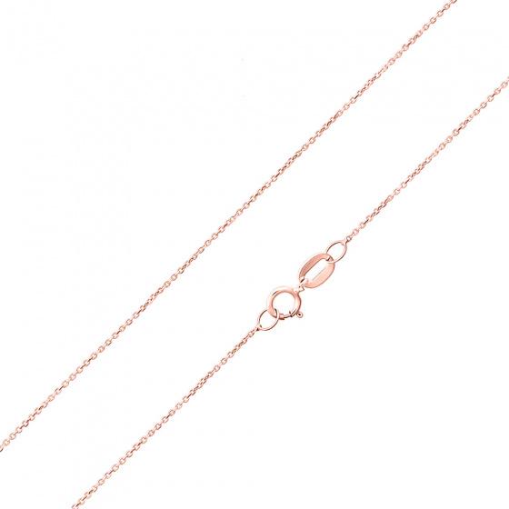 """Εικόνα του """"Ροζ χρυσή αλυσίδα Κ14 """"Forzatina #1"""" 40cm"""""""