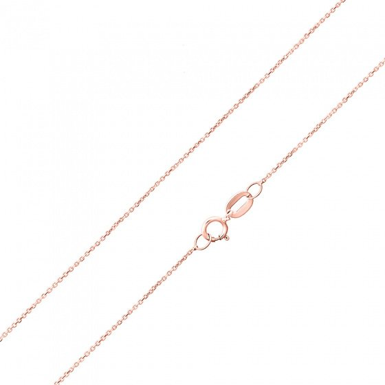 """Image of """"""""Forzatina #1"""" rose gold chain K14 45cm"""""""