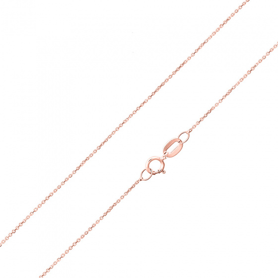 """Εικόνα του """"Ροζ χρυσή αλυσίδα Κ9 """"Forzatina #1"""" 40cm"""""""