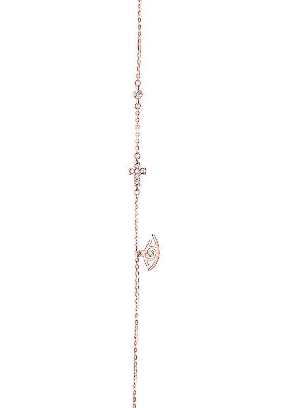 """Image of """"""""Divine Protector"""" rose gold bracelet K14"""""""