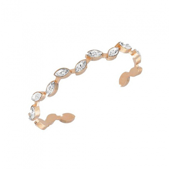 "Image of ""REBECCA Lumière bracelet in rose gold stainless steel, BLMBRR05"""
