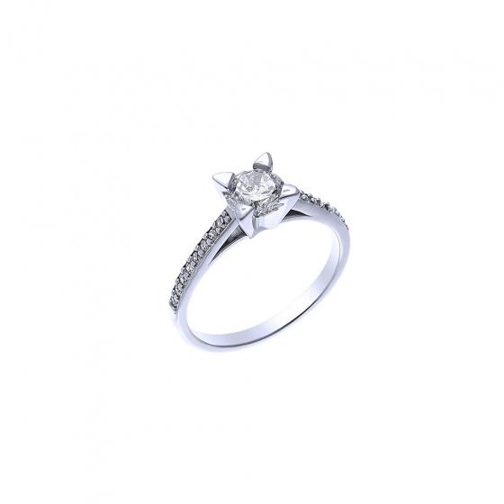 """Εικόνα του """"Ασημένιο δαχτυλίδι """"Chivalry"""""""""""
