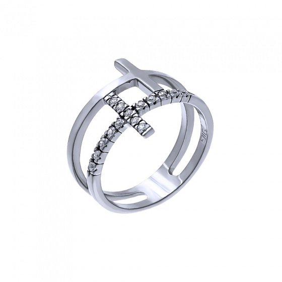 """Image of """"""""Altar of God"""" silver ring"""""""