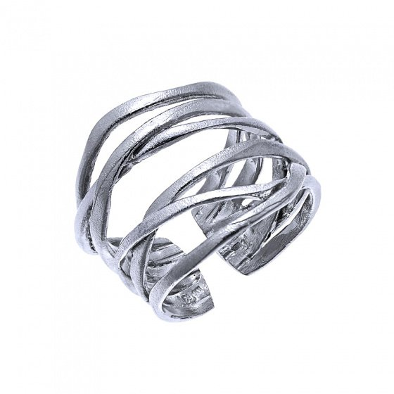 """Image of """"""""Unbreakable Bonds"""" silver ring"""""""