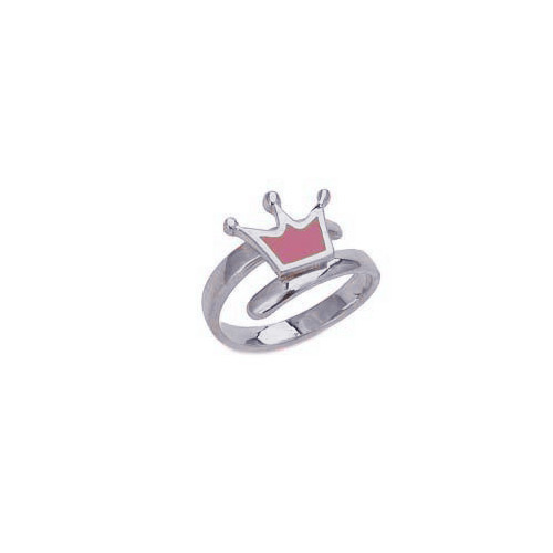 """Image of """"""""Lovely Crown"""" silver children's ring"""""""