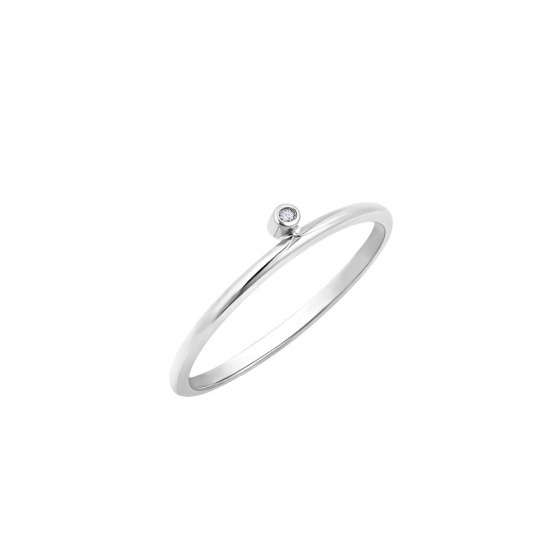 """Image of """"""""Discreet"""" silver ring"""""""