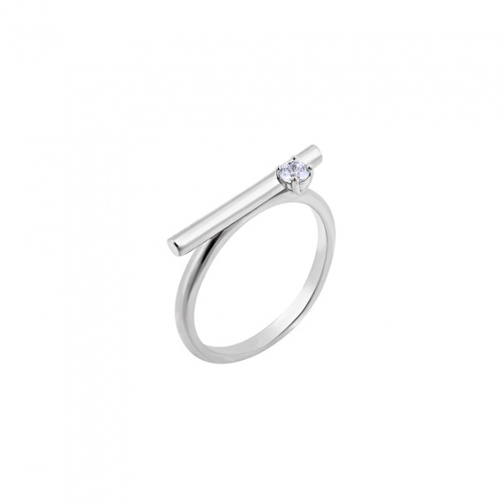 """Image of """"""""Statement"""" silver ring"""""""