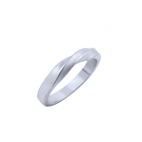 """Εικόνα του """"Ασημένιο δαχτυλίδι """"Mrs Bond"""""""""""