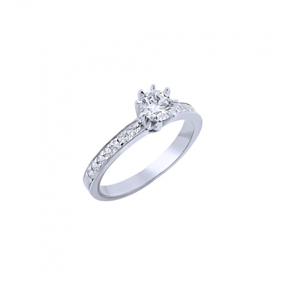"""Image of """"""""Delicate"""" silver ring"""""""