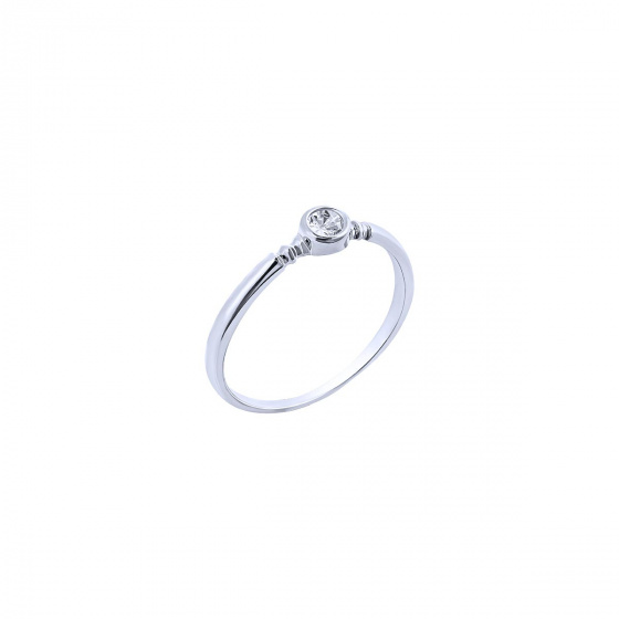 """Image of """"""""Pretty One"""" silver ring"""""""