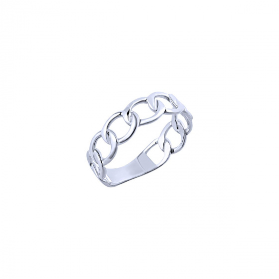 """Image of """"""""Wreath"""" silver ring"""""""