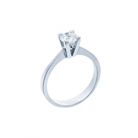 "Image of """"Eternity Plus 009"" white gold engagement ring K14"""
