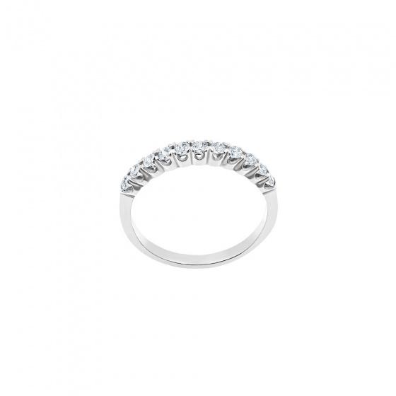 """Εικόνα του """"Λευκόχρυσο δαχτυλίδι Κ14 """"Magnificent"""""""""""