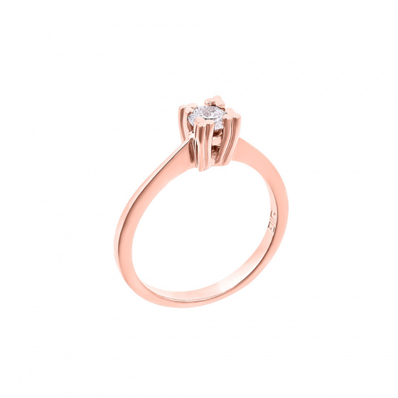 "Image of """"Eternity Plus 026"" rose gold engagement ring K14"""