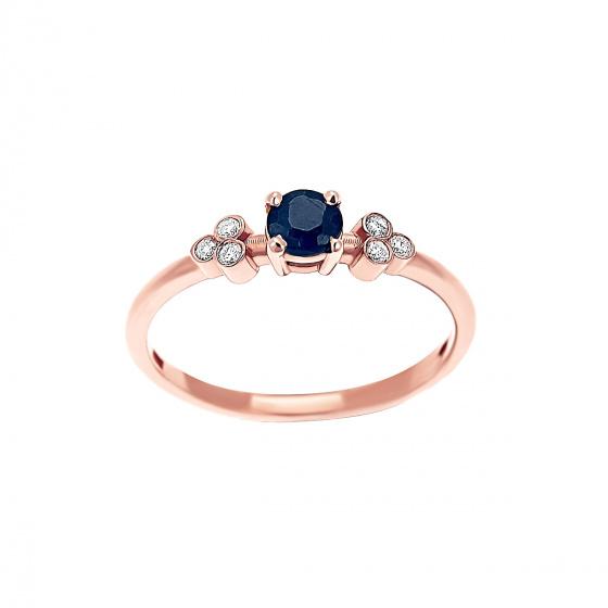 """Image of """"""""Triple Vintage Zaphire"""" rose gold ring K14"""""""