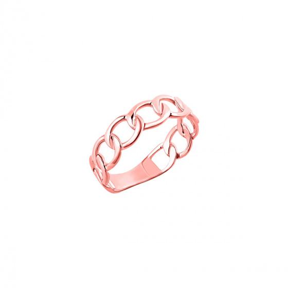 "Image of """"Wreath"" rose gold ring K14"""