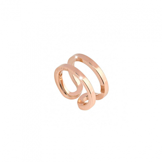 "Image of ""REBECCA Stockholm ring in rose gold stainless steel, BCCABR02"""