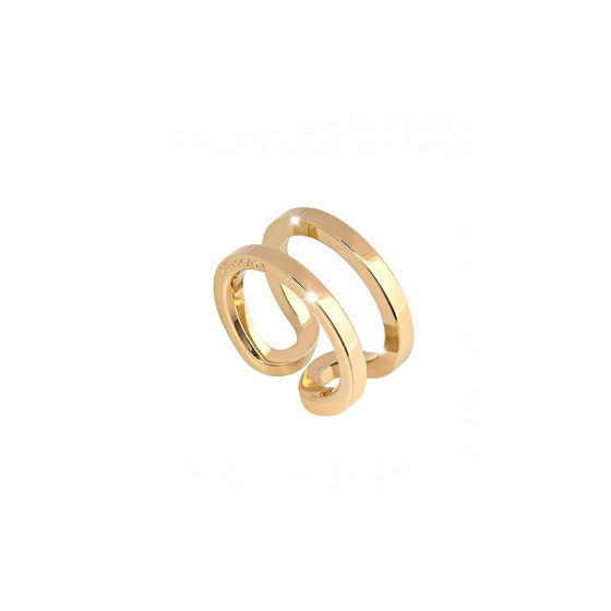 "Image of ""REBECCA Stockholm ring in gold stainless steel, BCCABO02"""