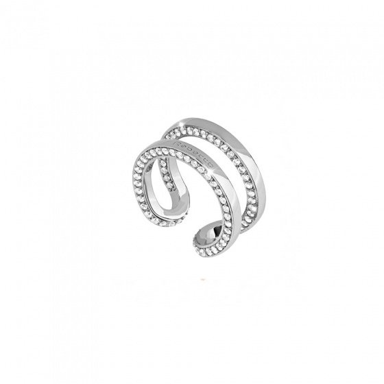 "Image of ""REBECCA Stockholm ring in silver stainless steel, BCCABB01"""