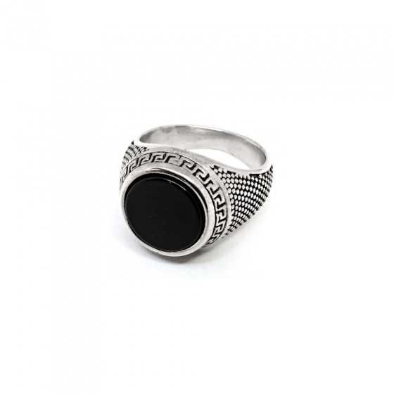 "Image of ""Stainless steel men's ring, SR975"""