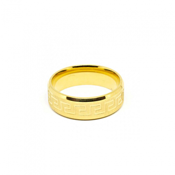 "Image of ""Stainless steel men's ring, SR963"""