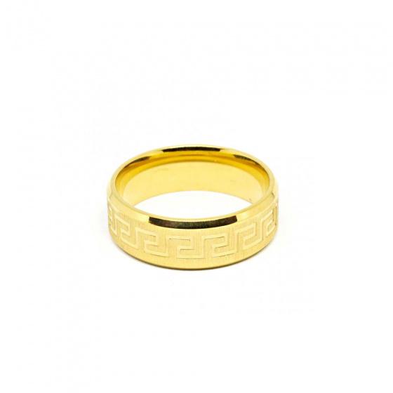"""Εικόνα του """"Ατσάλινο ανδρικό δαχτυλίδι, SR963"""""""