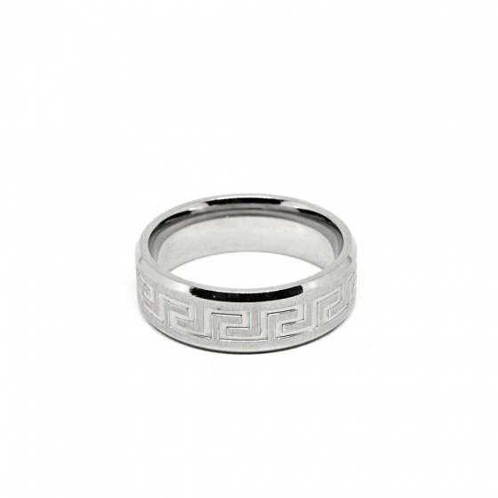 "Image of ""Stainless steel men's ring, SR964"""