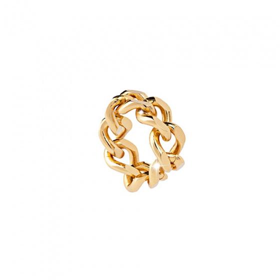 """Εικόνα του """"Δαχτυλίδι REBECCA Groumette από χρυσό ανοξείδωτο ατσάλι, BGUABO09"""""""