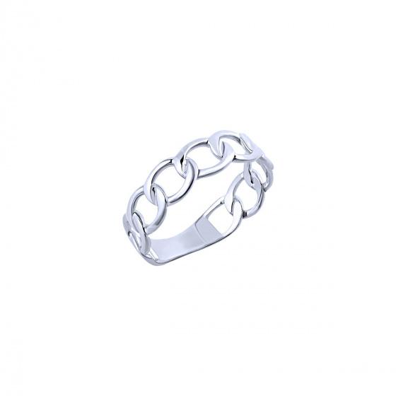 """Εικόνα του """"Λευκόχρυσο δαχτυλίδι Κ9 """"Wreath"""""""""""