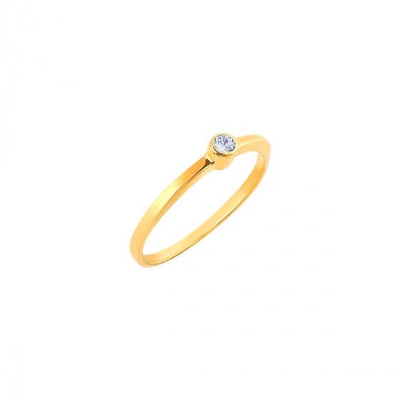 "Image of """"Fancy"" gold ring K14"""