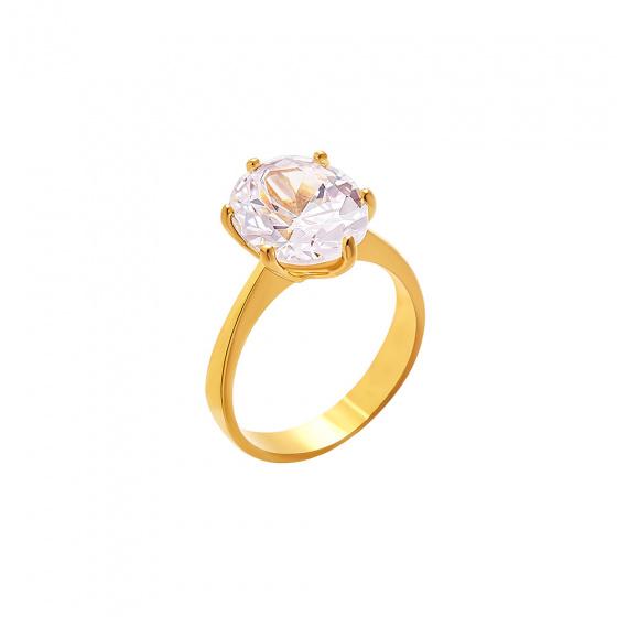 "Image of """"Wonderland"" gold ring K9"""