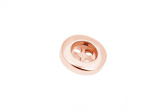"Image of """"JButton"" rose gold K14 button"""