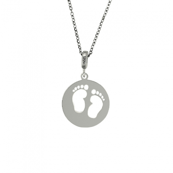 "Image of ""Pendant with children's toes, silver 925"""