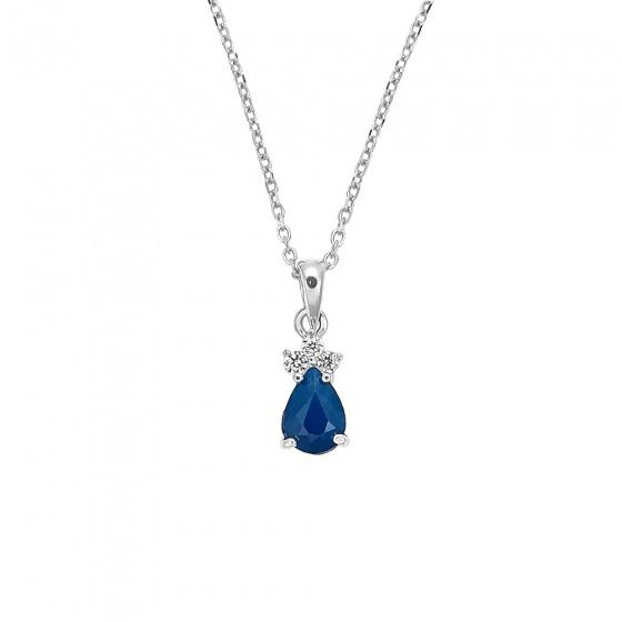"""Image of """"""""Ocean Queen"""" silver pendant"""""""