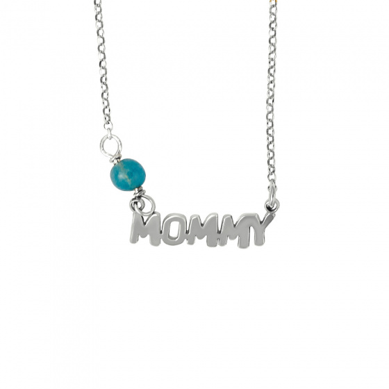 """Image of """"""""Mommy"""" necklace, silver 925"""""""