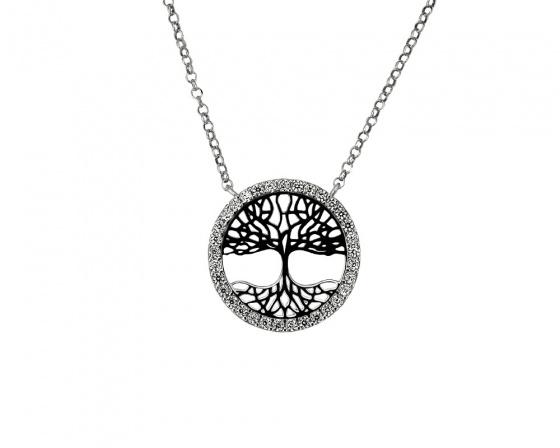 """Εικόνα του """"Ασημένιο κολιέ """"Tree of Edem"""""""""""