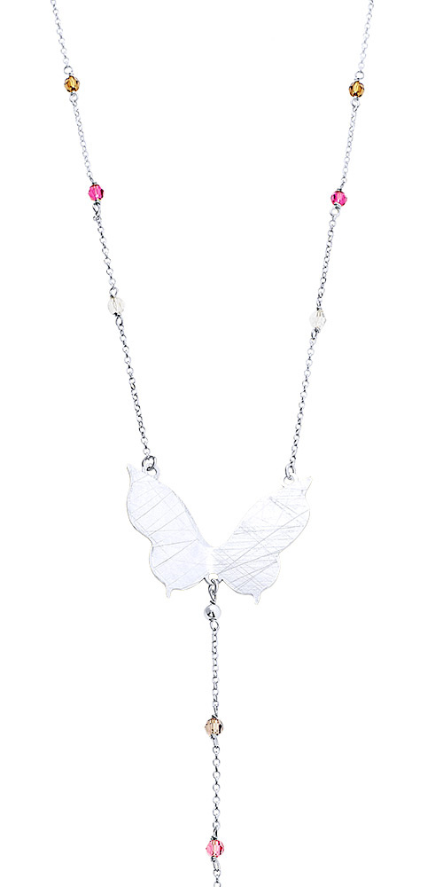 """Image of """"""""Nightfly"""" silver necklace"""""""
