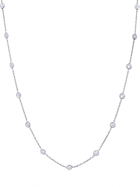 """Image of """"""""Mistress of the Sky"""" silver necklace 95cm"""""""