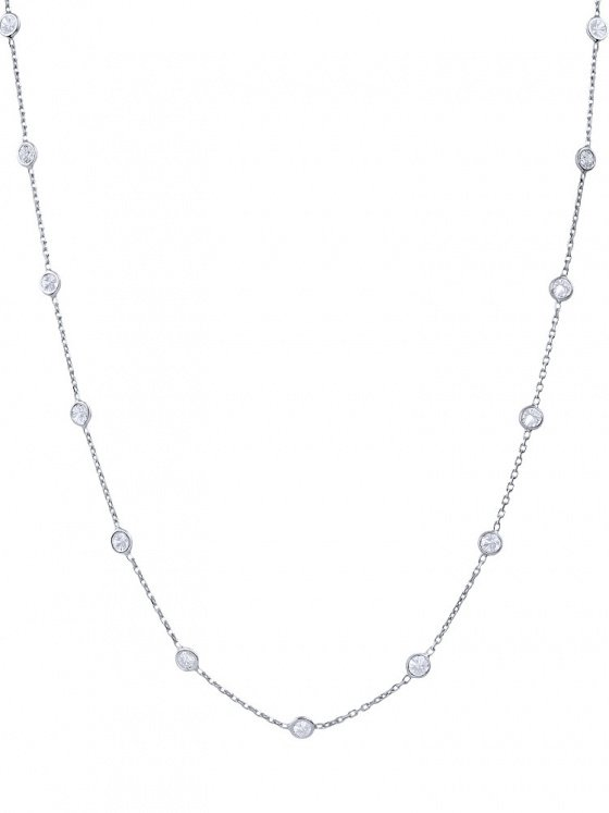 """Image of """"""""Mistress of the Sky"""" silver necklace 80cm"""""""
