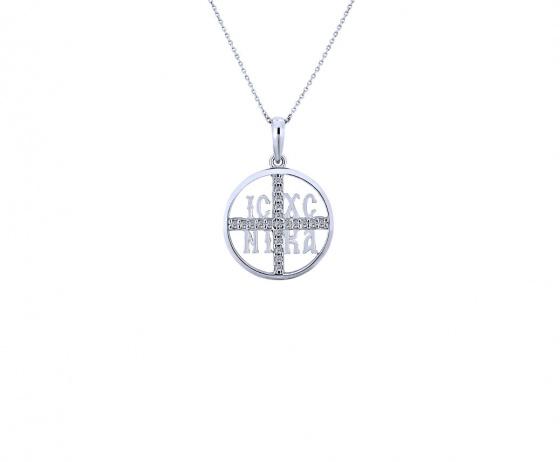 """Image of """"""""Constantinato #4"""" silver pendant """""""