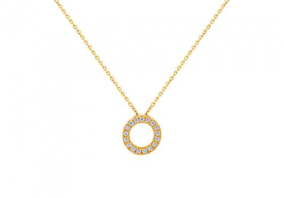 """Image of """"""""Ravishing"""" gold necklace K9"""""""