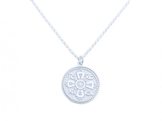 """Image of """"""""Constantinato #1"""" silver pendant (small)"""""""