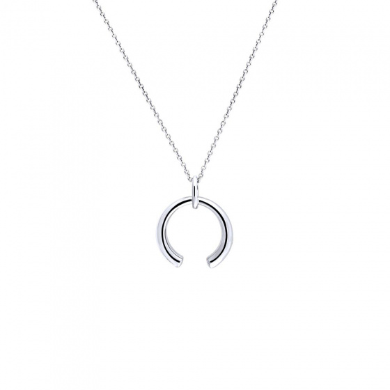 "Image of """"Aura"" silver pendant"""