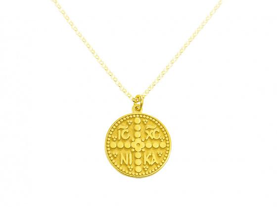"""Εικόνα του """"Χρυσό Κ14 Κωνσταντινάτο #3 (μικρό)"""""""