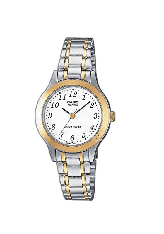 """Εικόνα του """"CASIO Collection LTP-1263PG-7BEF Γυναικείο Ρολόι με Μπρασελέ"""""""