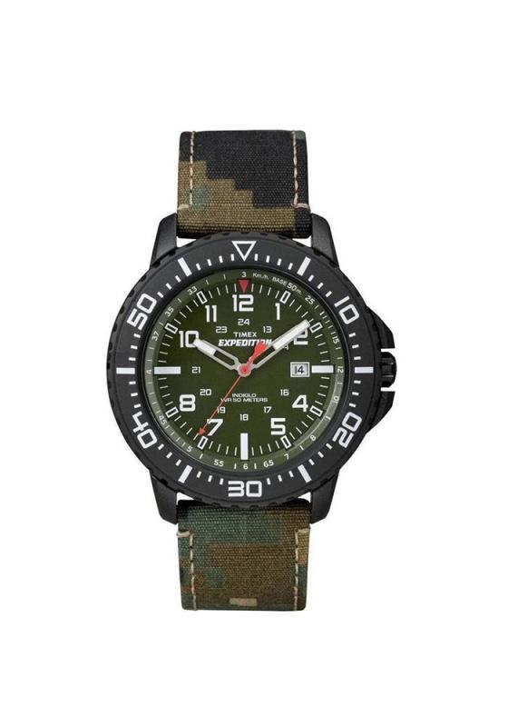 """Εικόνα του """"TIMEX Expedition T49965 Ανδρικό Ρολόι με Χακί Υφασμάτινο Λουρί"""""""