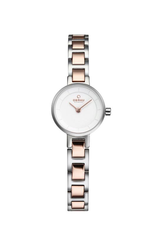 """Εικόνα του """"OBAKU Let V198LXCISC Γυναικείο Ρολόι με Μπρασελέ"""""""