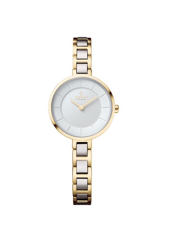 "Image of ""OBAKU Vind V183LXGISG Women's Bracelet Watch"""