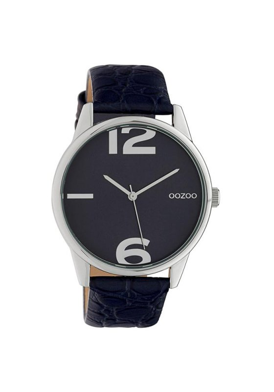 "Image of ""OOZOO Timepieces C10377 Women's Watch with Black Leather Strap"""
