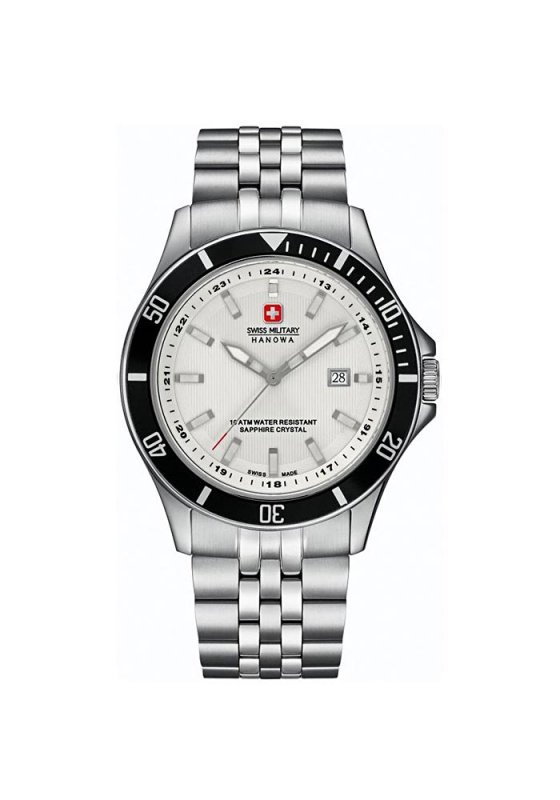 "Image of ""SWISS MILITARY HANOWA Flagship 6-5161.2.04.001 Men's Bracelet Watch"""